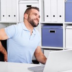 preventing back pain at work