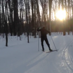 Olivier Babineau Cross Country Skiing